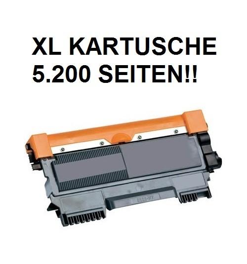XL Tonerkartusche wie Brother TN-2220 schwarz - doppelte Kapazität für 5.200 Seiten
