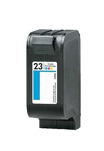Refill Druckerpatrone HP 23 XL color, dreifarbig - C1823DE