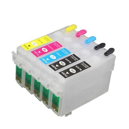 Wiederbefüllbare QUICKFILL-FILL-IN Patronen für Epson Office B1100 mit Auto Reset Chips