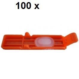 100 x Transport Clip für Canon CLI-551, CLI-571, CLI-581 - alle Farben