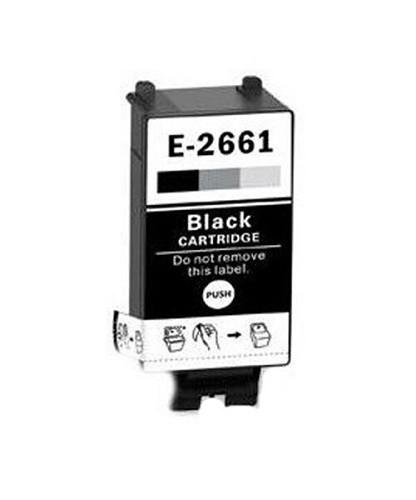 Druckerpatrone wie Epson T266 schwarz, black