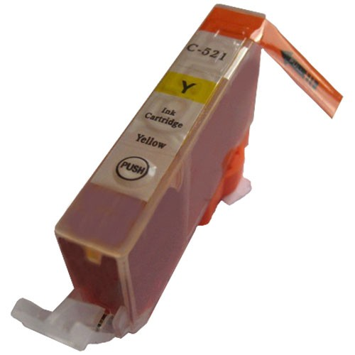 Druckerpatrone wie Canon CLI-521 Yellow, 2936B001