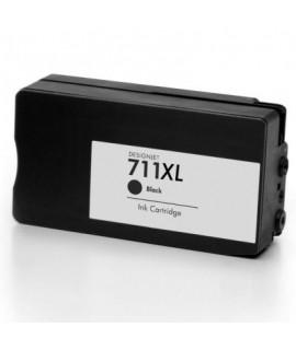 Druckerpatrone wie HP 711 black (XL) - CZ129A, CZ133A