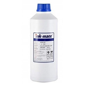 1 Liter INK-MATE Tinte EP100 Pigment cyan - Epson T0712, T1282, T1292, T1302, T16xx, T27xx, T61xx