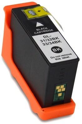 Druckerpatrone wie Dell 31, 33 - 592-11807, 592-11812, 592-11819 schwarz, black