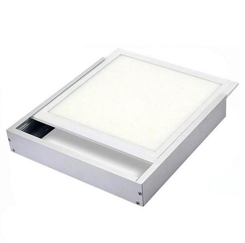 Aufputz Einbaurahmen Aluminium für LED Panel 60 x 60 cm