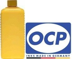 1 Liter OCP Tinte YP102 yellow, pigmentiert für Epson T1284, T1294, T1624, T1634, T2704, T2714