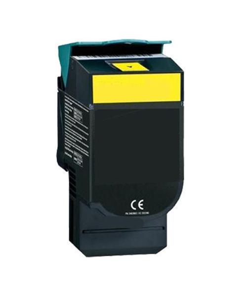 Tonerkartusche für Lexmark C540, C543, C544, C546, X543, X544 Yellow C540H1YG, C540H2YG