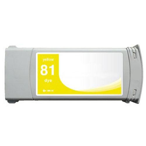Refill Druckerpatrone HP 81 yellow C4933A