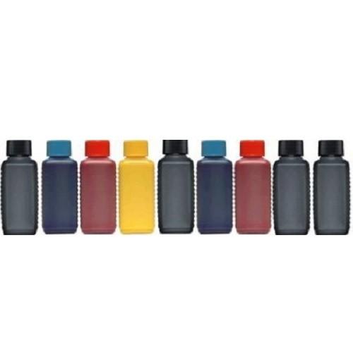 9 Farben Nachfüllset, 9 x 100 ml Photo-Tinten für Epson Stylus Photo R2880, R3000