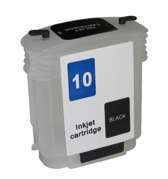 Wiederbefüllbare Quickfill Fill-In Patrone HP 10 black mit Auto Reset Chip