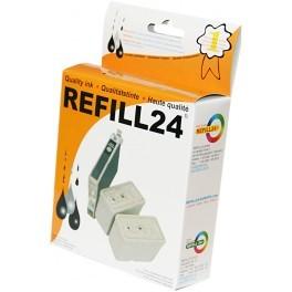 Nachfüllset für Epson T0711 T1281 T1291 T1301 T16xx T27xx T70xx - 100 ml OCP Tinte black