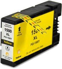 Druckerpatrone wie Canon PGI-1500 XL Yellow, 9195B001