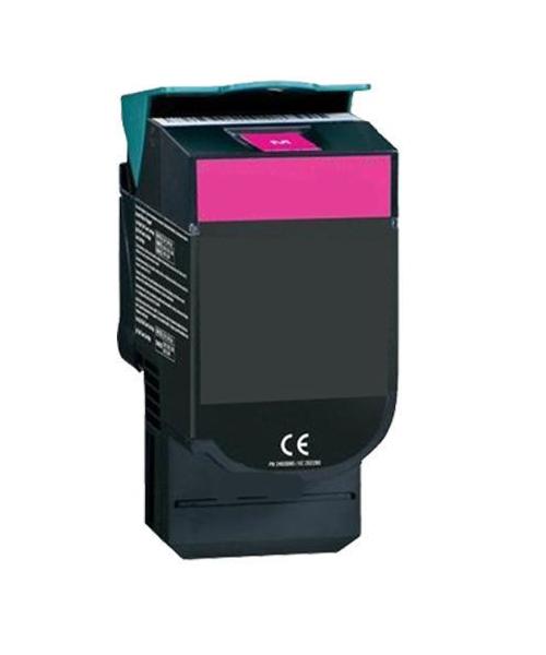 Tonerkartusche für Lexmark C540, C543, C544, C546, X543, X544 Magenta C540H1MG, C540H2MG