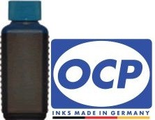 100 ml OCP Tinte C305 cyan für Brother LC-970, 980, 1000, 1100, 1220, 1240, 1280, 121, 123, 125