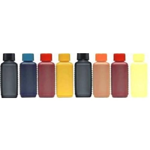 8 Farben Nachfüllset, 8 x 100 ml Photo-Tinten für Epson Stylus Photo R1900 + R2000