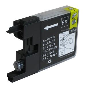 Druckerpatrone wie Brother LC-1280 XL-BK Black, Schwarz